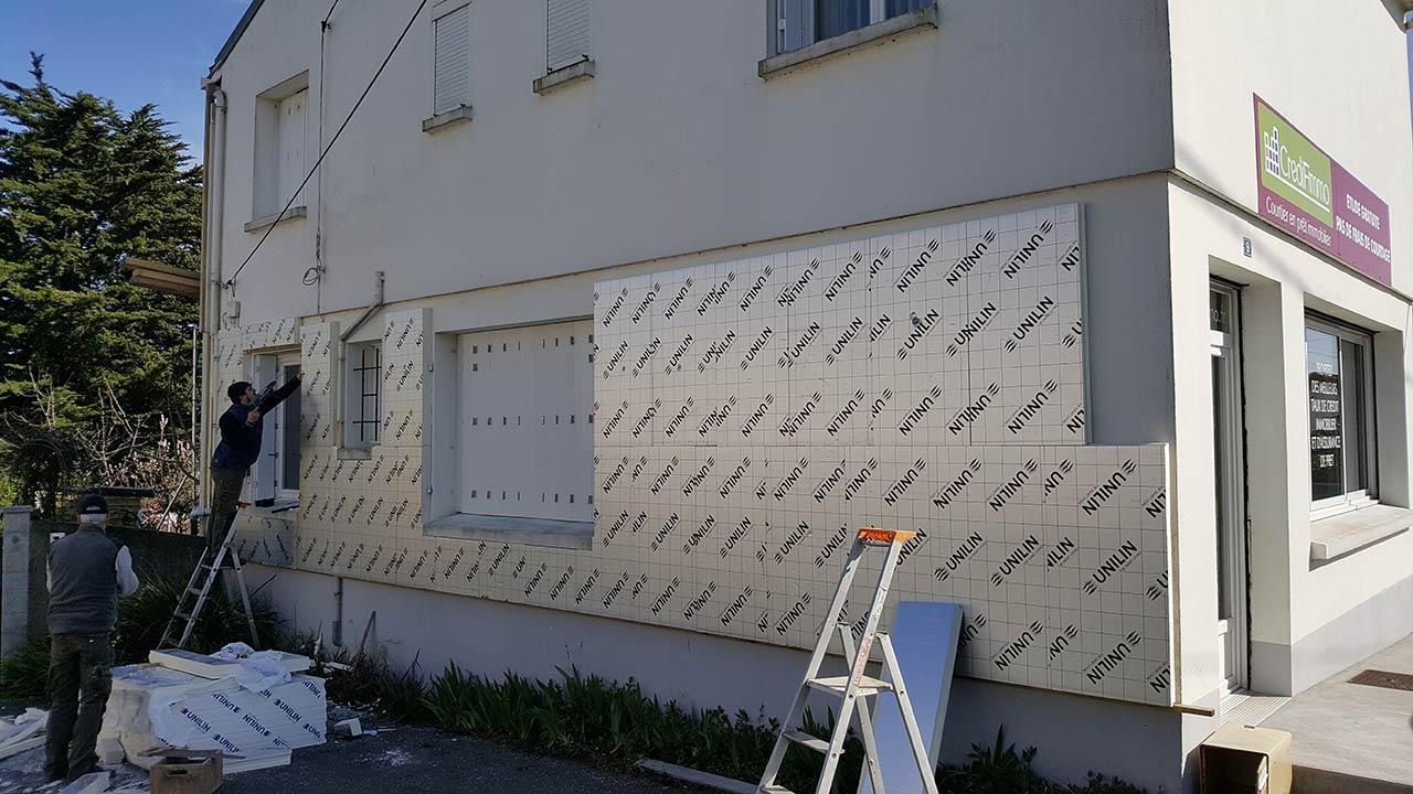 isolation thermique des murs ext rieurs gr goire menuiserie. Black Bedroom Furniture Sets. Home Design Ideas